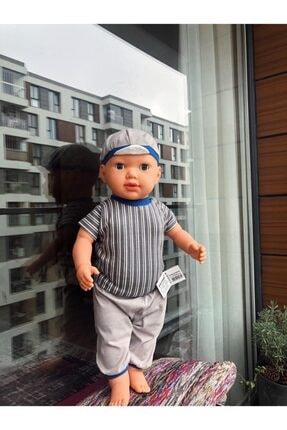 Gamze Oyuncak Türkçe Konuşan Şapkalı-kel Et Bebek 60 Cm (Görseller Ake Store'a Aittir.)