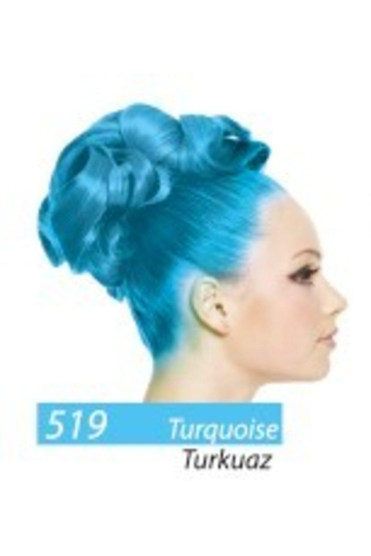 Jamaican Jean's Color Saç Boyası Turkuaz Mavi Boya1008 2