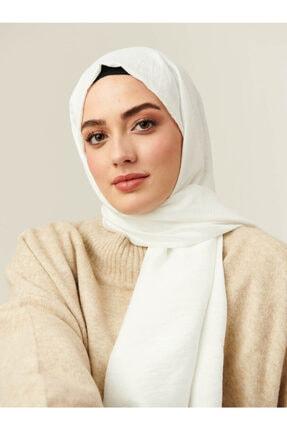Modakaşmir Modal Caz Şal Beyaz - 04