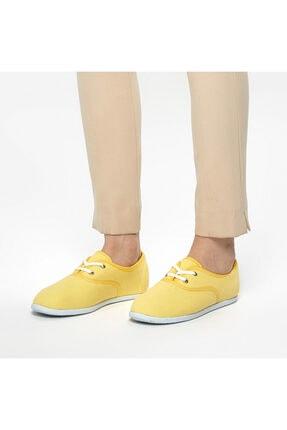 ART BELLA Kadın Sarı Sneaker Ayakkabı 100382585