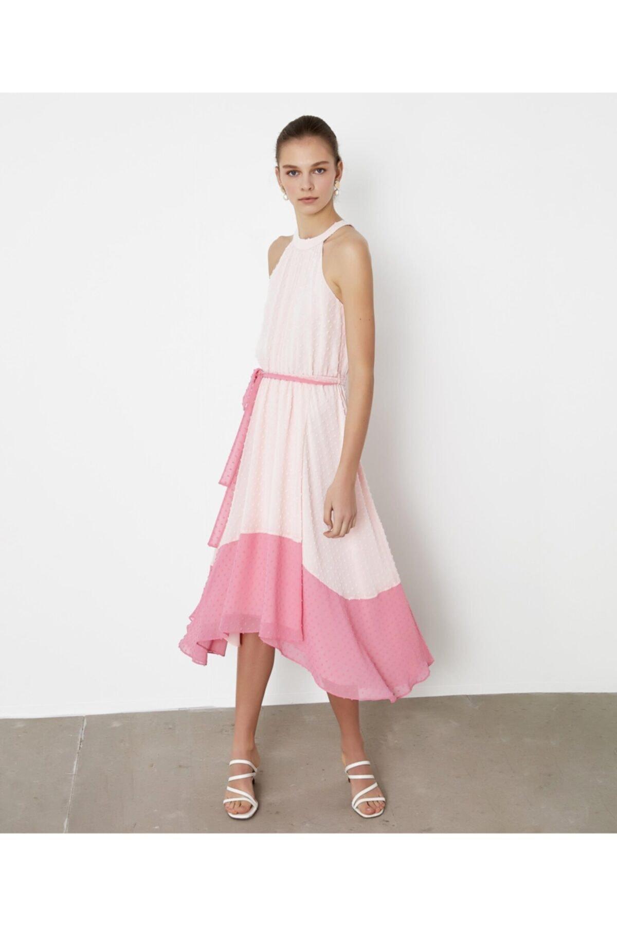 İpekyol Renk Geçişli Elbise 1