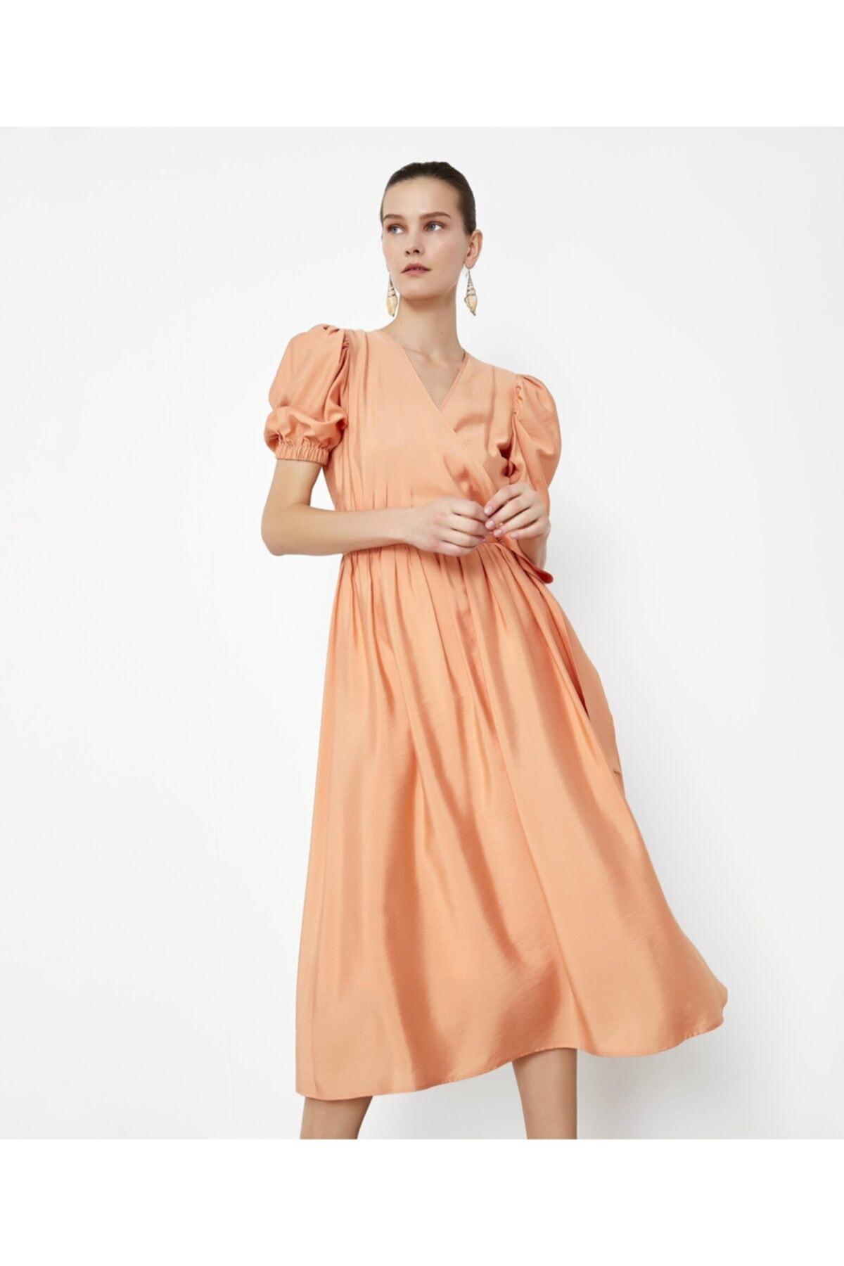 İpekyol Balon Kol Elbise 2