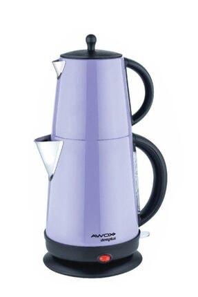 AWOX Xx-157 Demplus Çelik Çaycı Çay Makinesi-lila Çaycı