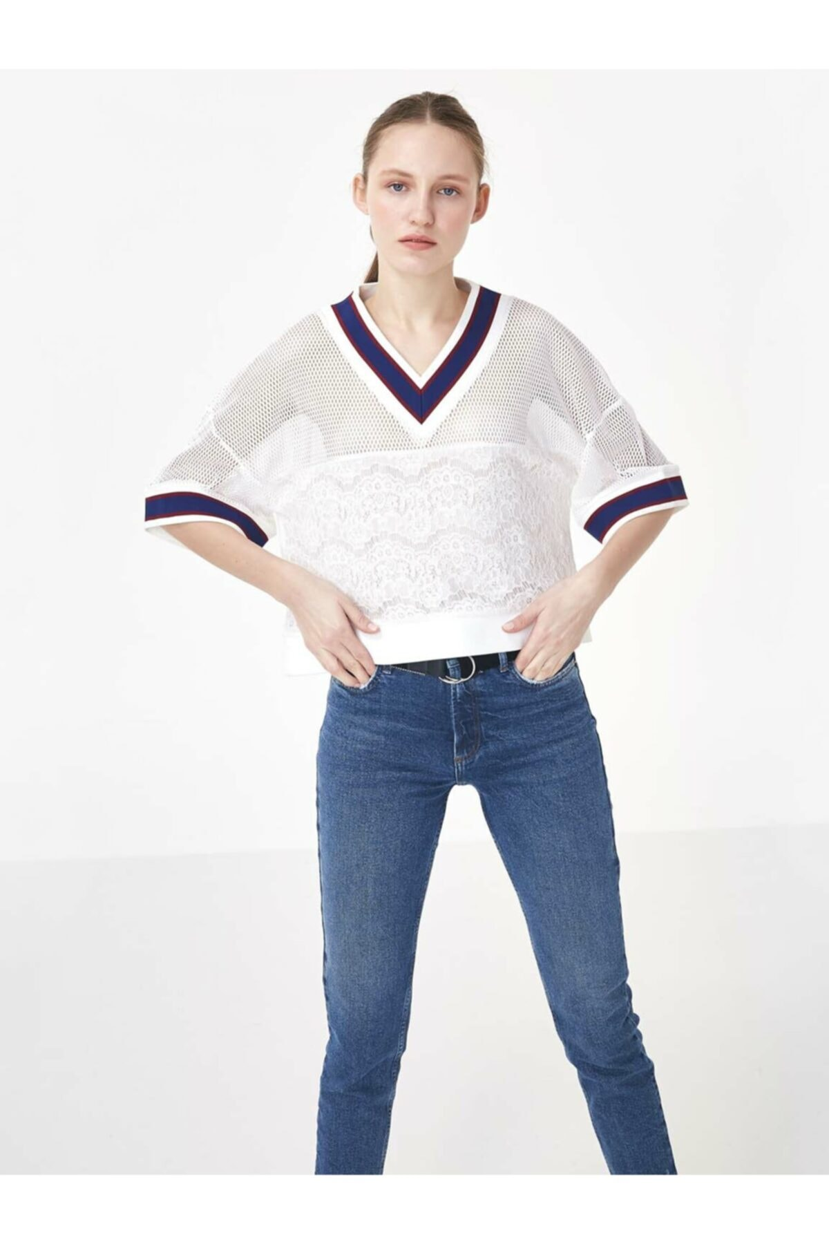 Twist Ribana Yaka Crop Bluz 1