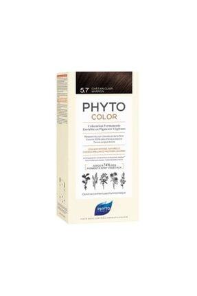 Phyto Color 5.7 Açık Kestane Bakır (Kahve Tonlar)