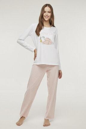 Penti Çok Renkli Slow Life Pijama Takımı