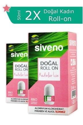 Siveno Doğal 2'li Kadın Roll-on Seti 2x 50ml Sset-000003