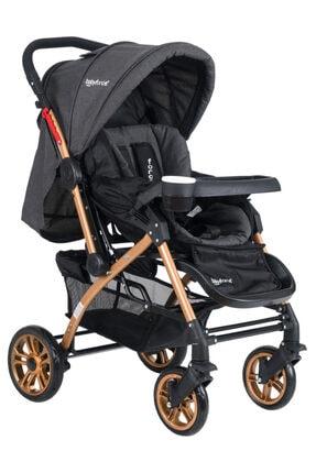 Baby Force Secret Gold Çift Yönlü Bebek Arabası Siyah