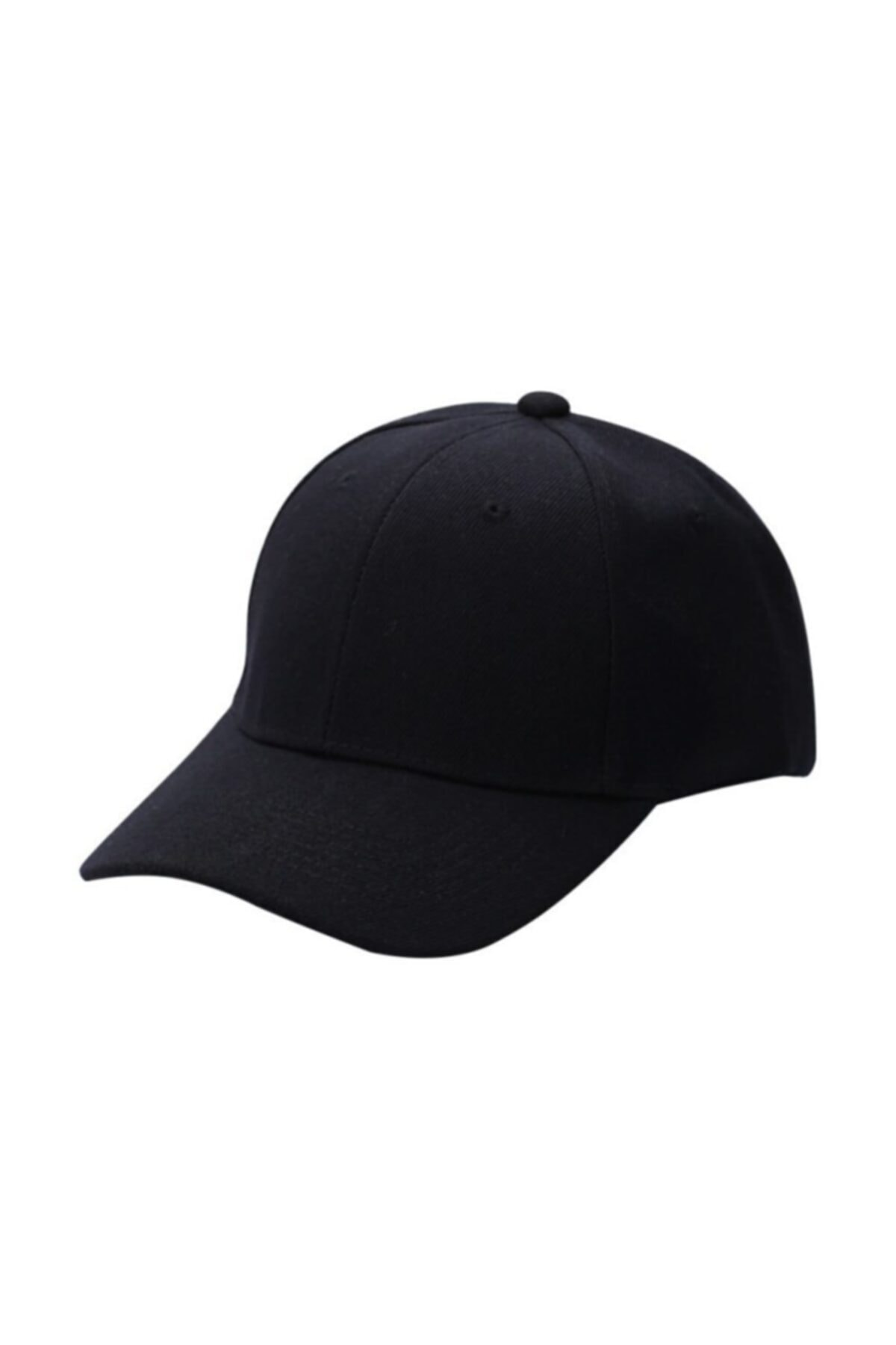 Belifanti Collection Siyah Spor Şapka Unisex Arkası Cırtlı Ayarlanabilir 1