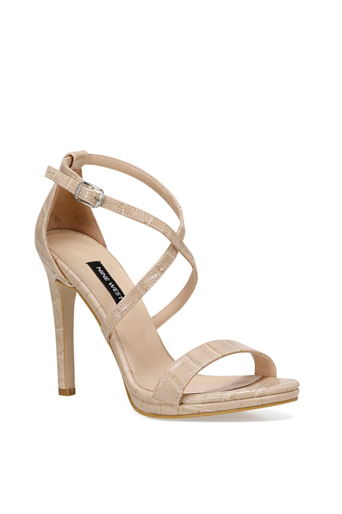 Nine West Celan2 Krem Kadın Topuklu Sandalet 2