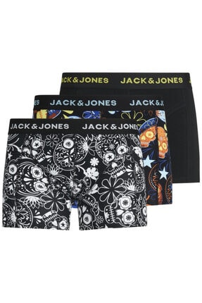 Jack & Jones 3'lü Boxer 12185485 Jacsugar