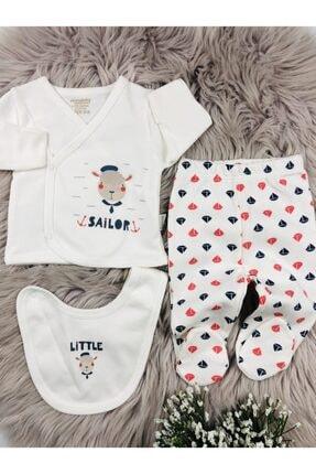 Ciccim Baby Little Sailor 3'lü Zıbın Seti