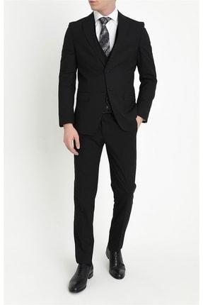 Efor Erkek Siyah  Slim Fit Klasik Takım Elbise