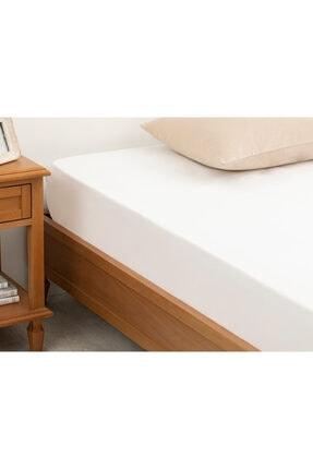 English Home Düz 2 Pamuklu Ara Ebat Lastikli Çarşaf 140X200 Cm Beyaz