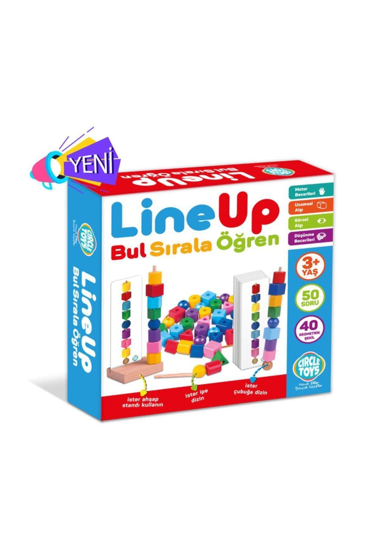 line up Circle Toys Line Up  Bul Sırala Öğren 1