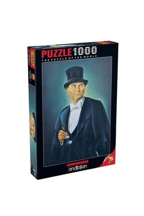 Anatolian Puzzle Mustafa Kemal Atatürk 1000pcs Puzzle / Anatolian 1042