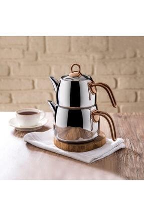 Emsan Teatanyum Maxi Indüksiyon Tabanlı Çaydanlık Takımı