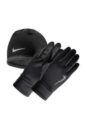 Nike Termal Koşu Eldiveni-Bere Seti S/m