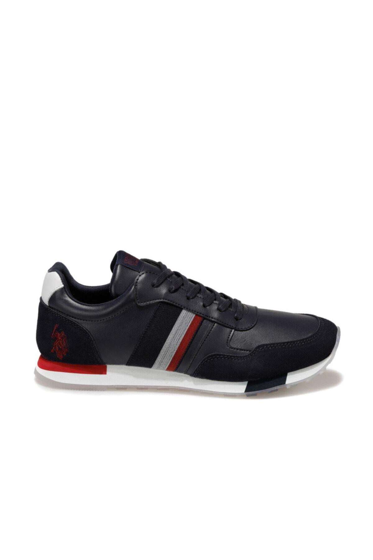 U.S. Polo Assn. BARLIN WT Lacivert Erkek Sneaker Ayakkabı 100551150 2