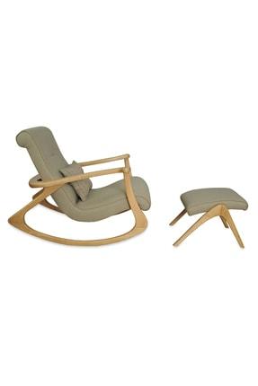 Asedia Ekol Naturel-gri Sallanan Sandalye