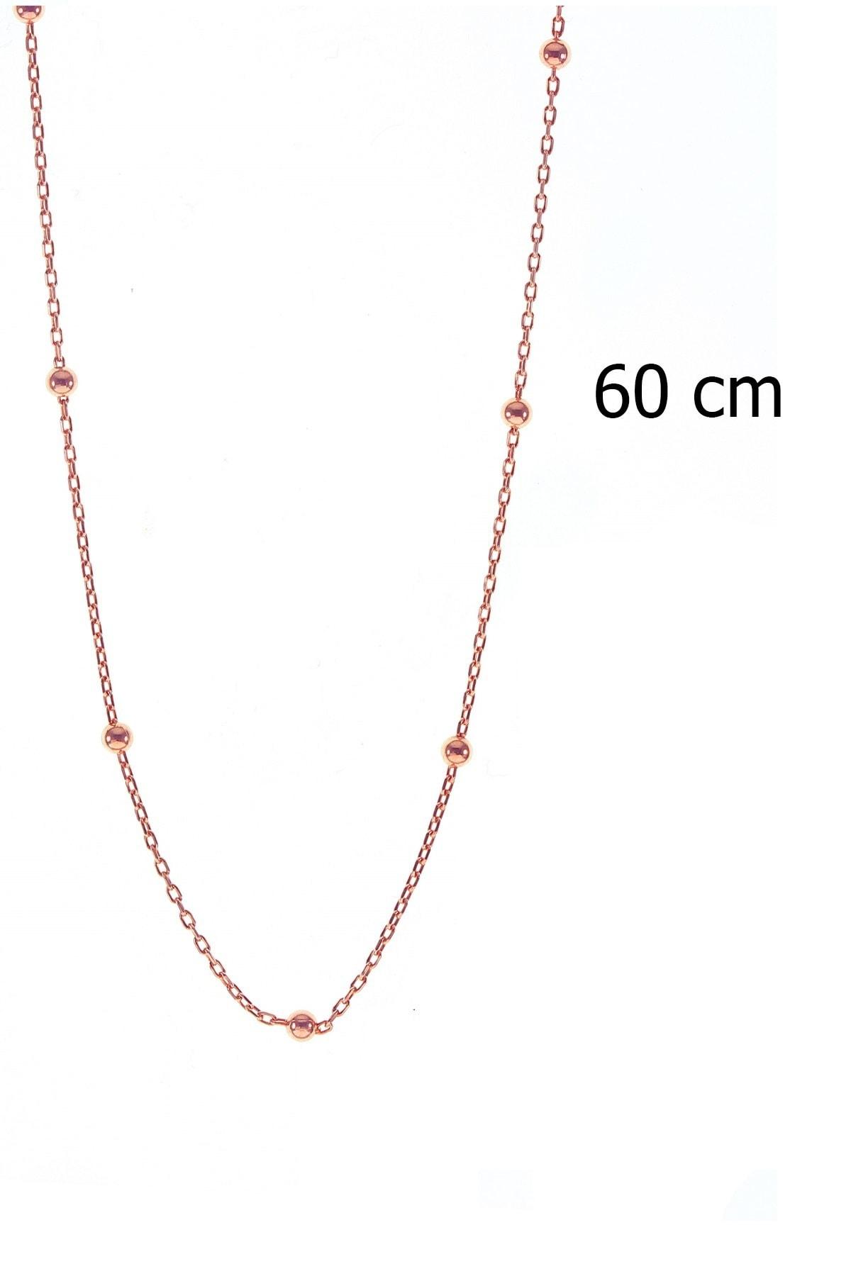 Söğütlü Silver Gümüş 60 Cm Top Top Zincir 1