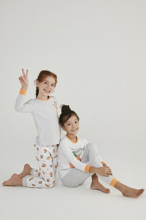 Penti Çok Renkli Kız Çocuk Juice 4lü Pijama Takımı