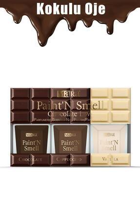 Mara Paint'n Smell Chocolate Love Kokulu Oje Seti