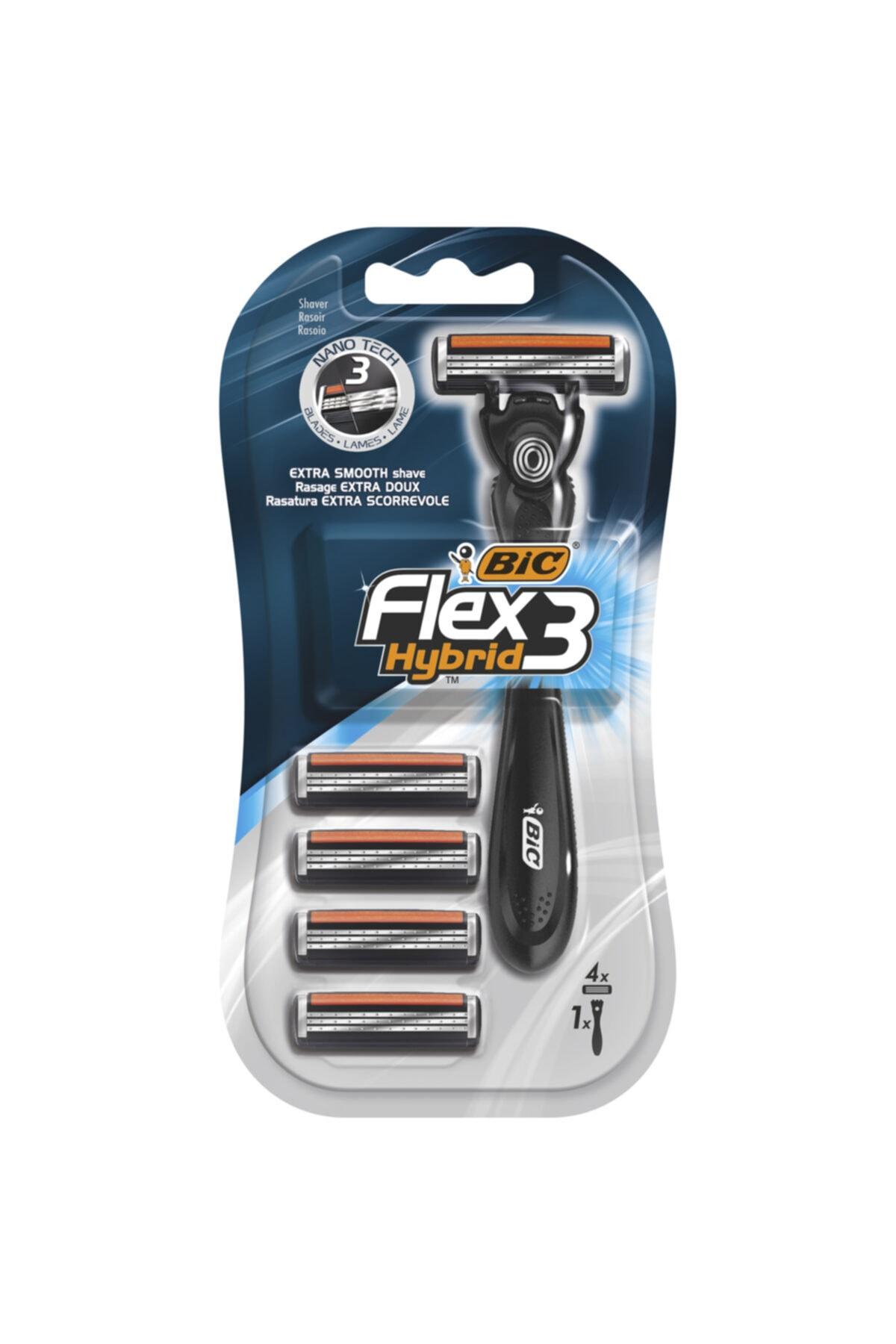 Bic Flex 3 Hybrid Tıraş Bıçağı 4  X 2 Adet 2