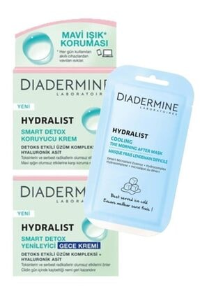 Diadermine Hydralist Smart Detox Cilt Bakım Seti