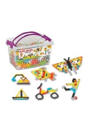 DEDE Çiçek Puzzle Box Eğitici Şekiller 500 Parça