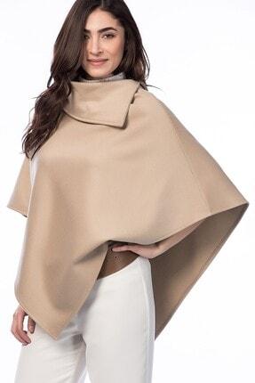 Pitti Kadın Camel Kaşe Panço 70257..
