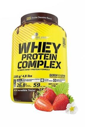 Olimp Whey Protein Çilek Aromalı Protein Tozu Kas Geliştirici 2200 gr