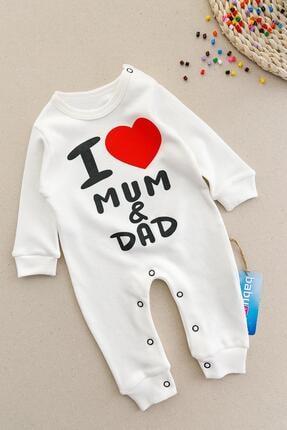 Babymod I Love Baskılı Bebek Tulum