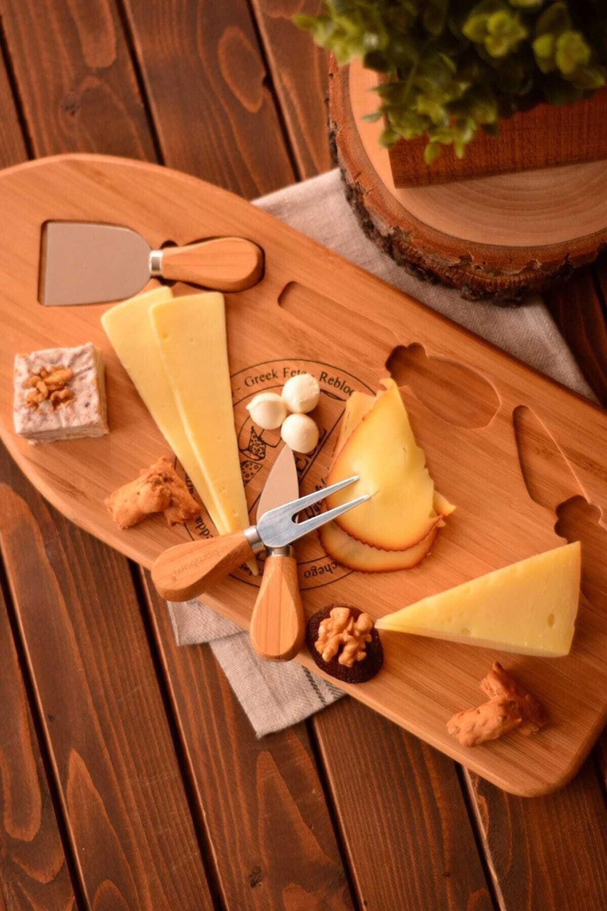 Bambum Osna – 4 Parça Peynir Servis Seti 2