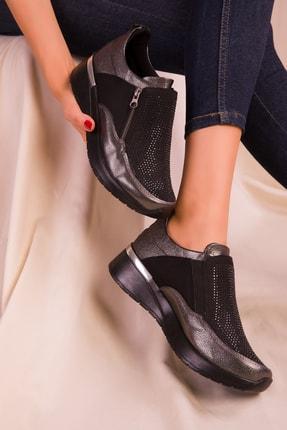 SOHO Platin Kadın Sneaker 15756