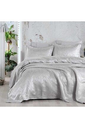 Elart Mucize Gümüş Günlük Yatak Örtüsü