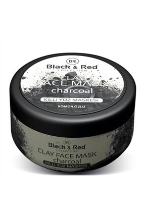 Black Red Black & Red Killi Yüz Maskesi Kömür Özlü 400gr