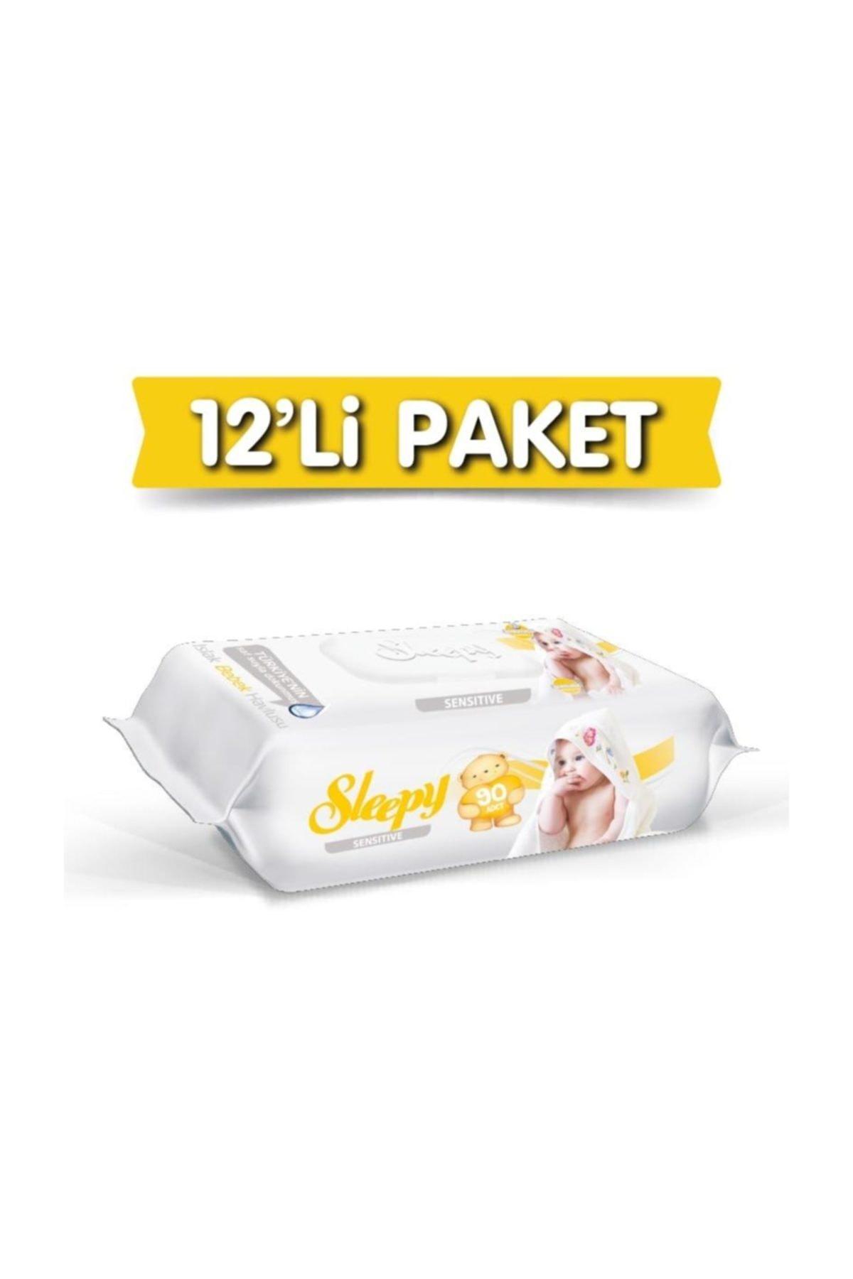 Sleepy Sensitive Islak Havlu 12x90'lı 1080 Yaprak 1