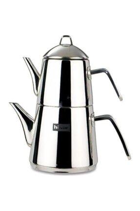 Hisar Rio Çelik Çaydanlık Ve Demlik Takımı Metal Saplı - 40541