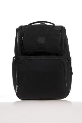 SMART BAGS Smb3000-0001 Siyah Kadın Bebek Bakım Sırt Çantası