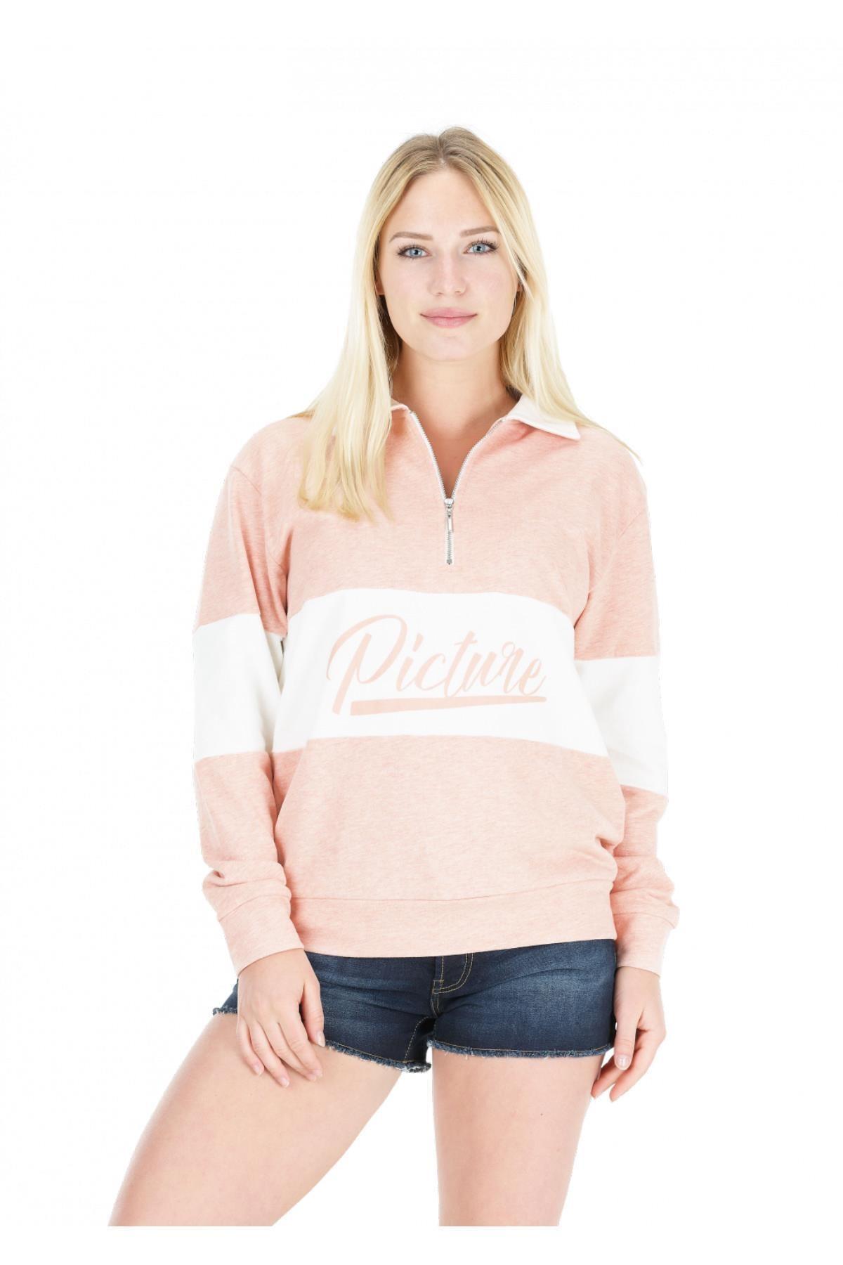 Picture Organic Cloud 1/4 Zip Kadın Sweatshirt 1