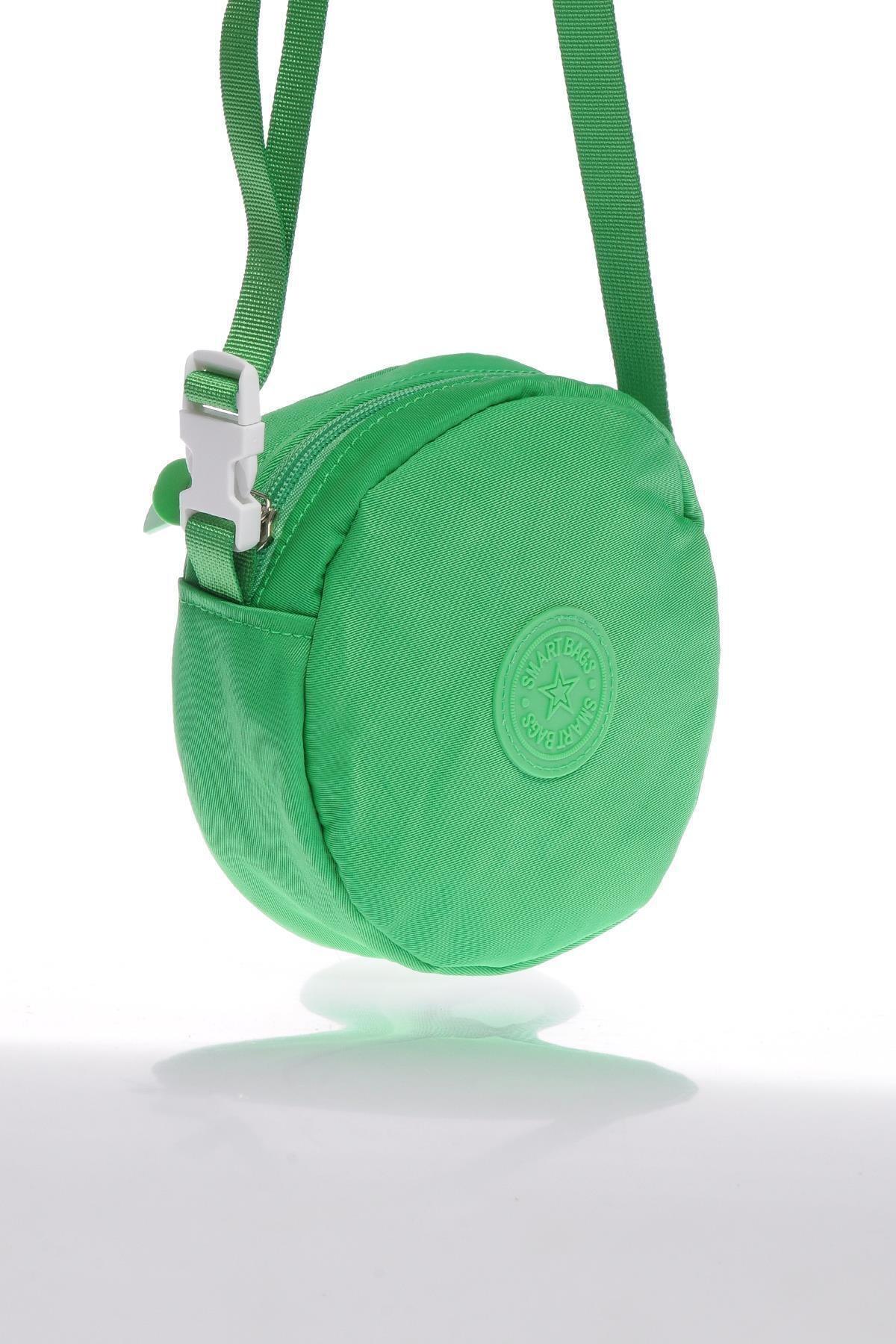 SMART BAGS Smb6001-0069 Yeşil Kadın Minik Çapraz Çanta 2