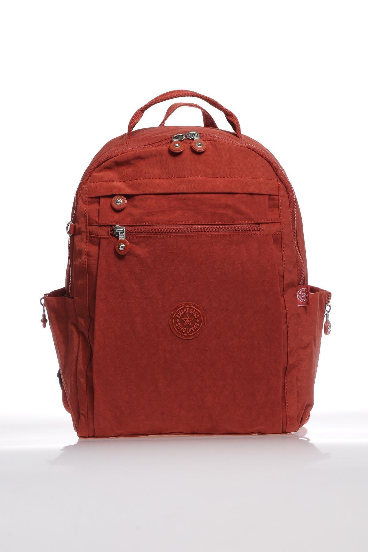 SMART BAGS Smb1247-0019 Kırmızı Kadın Sırt Çantası 1
