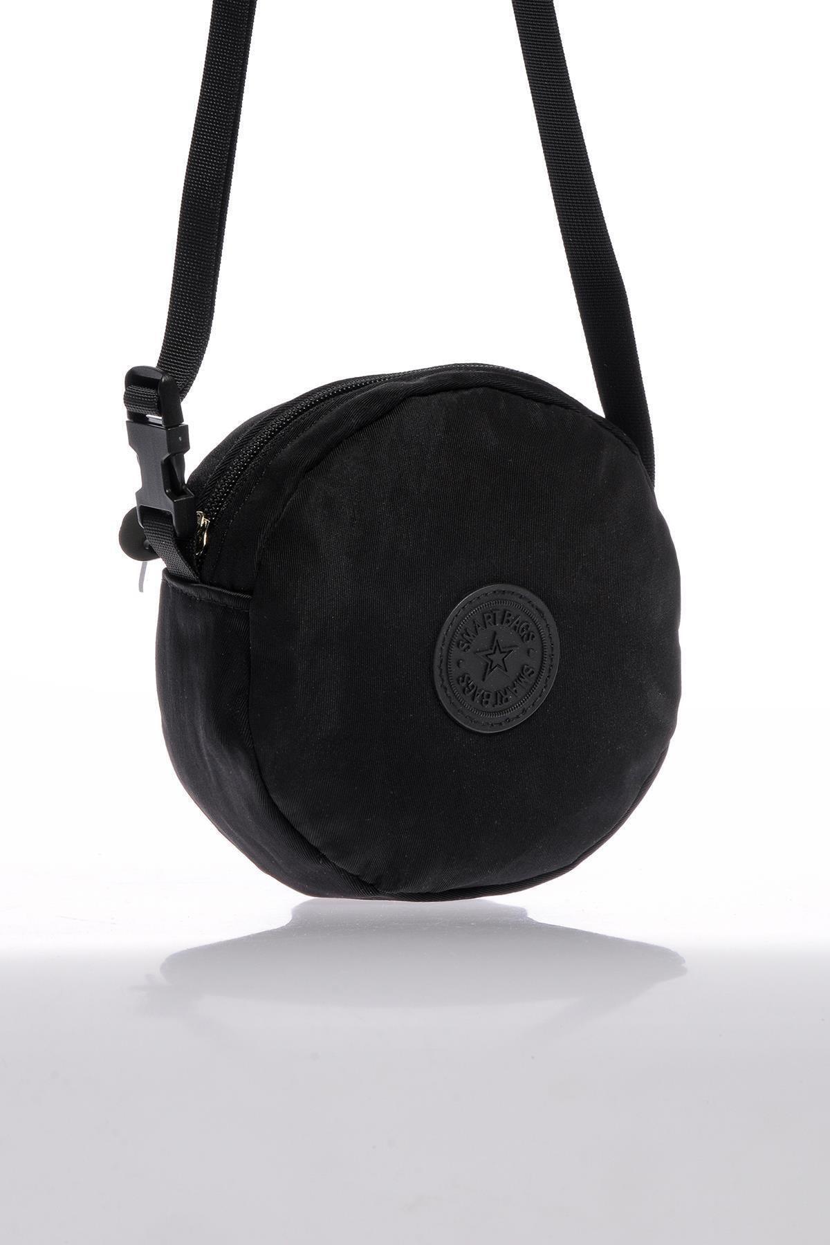 SMART BAGS Smb6001-0001 Siyah Kadın Minik Çapraz Çanta 2