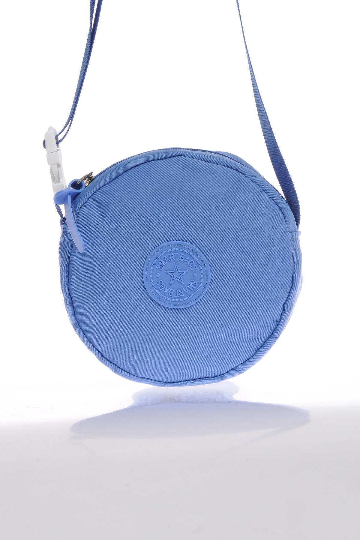 SMART BAGS Smb6001-0031 Mavi Kadın Minik Çapraz Çanta 1
