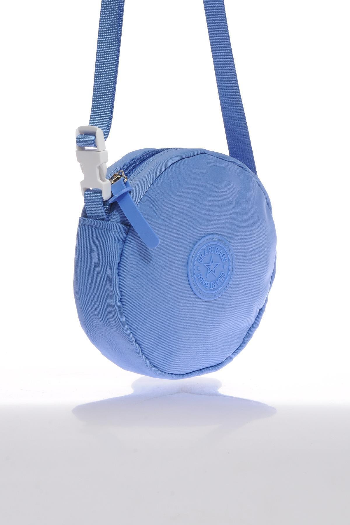 SMART BAGS Smb6001-0031 Mavi Kadın Minik Çapraz Çanta 2