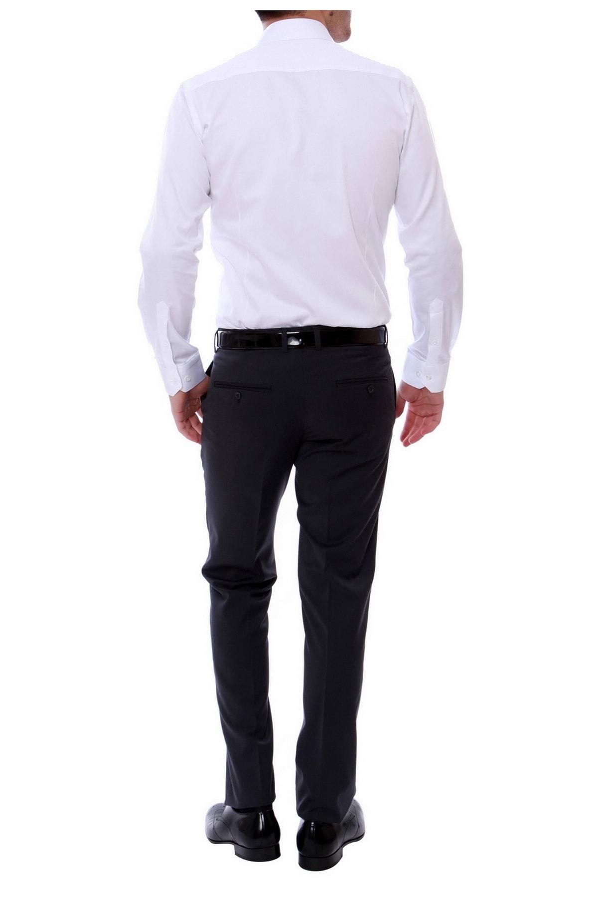 Efor P 888 Slim Fit Antrasit Klasik Pantolon 2