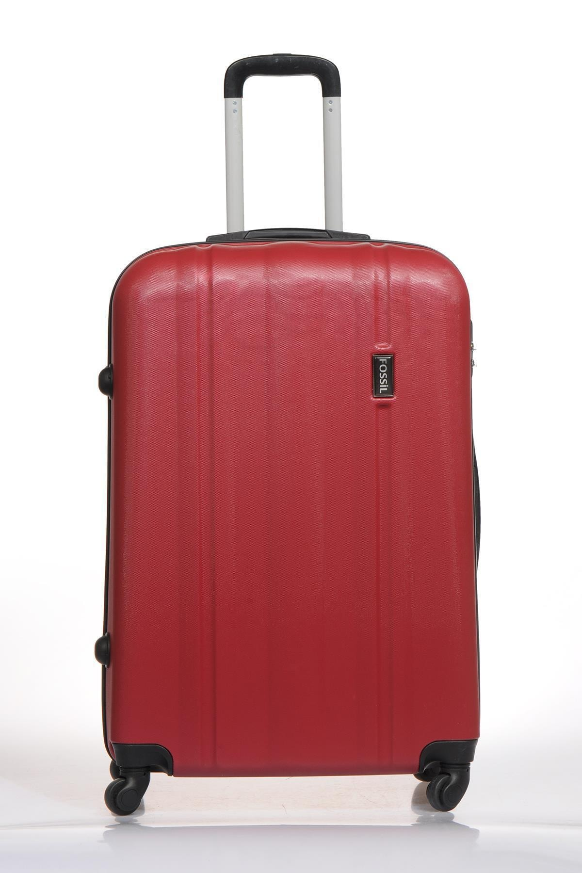 Fossil Fsy1225y-l Kırmızı Unisex Büyük Boy Bavul 1