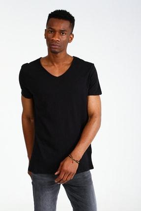 Collezione Siyah Erkek Sıyah Spor Regular Kısa Kol T-shirt