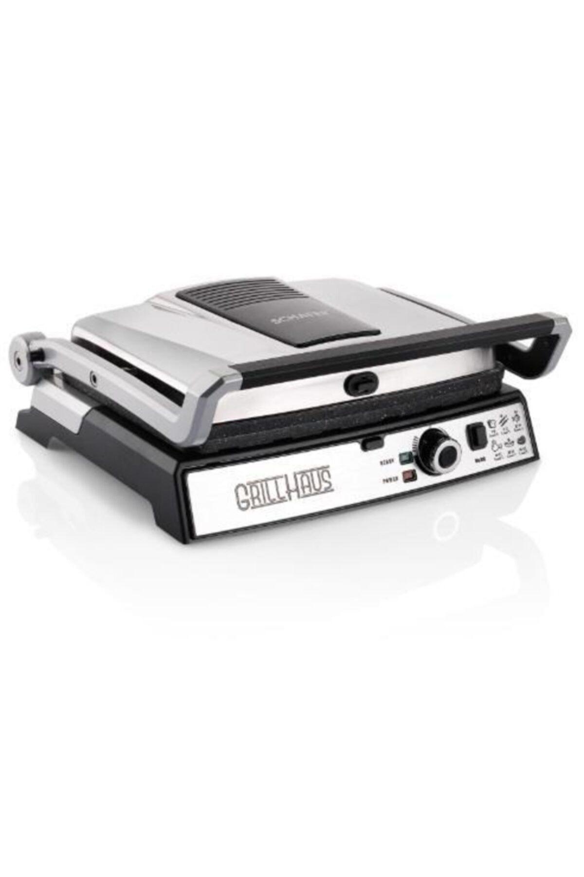Schafer Grill Haus Granit 2000w Izgara Ve Tost Makinesi Inox 1